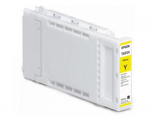 Картридж Epson (SureColor SC-T3000/5000/7000, 350мл, желтый) C13T693400