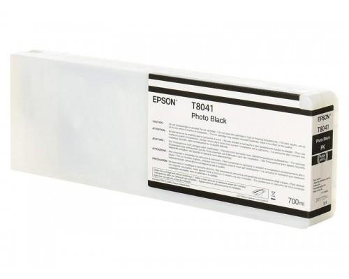 Картридж Epson (P6000/7/8/9, 700мл, черный фото) C13T804100