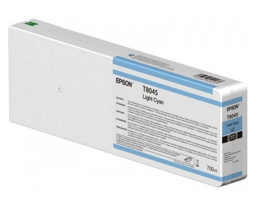 Картридж Epson (P6000/7/8/9, 700мл, светло-голубой) C13T804500