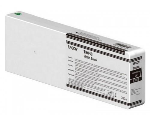 Картридж Epson (P6000/7/8/9, 700мл, черный матовый) C13T804800