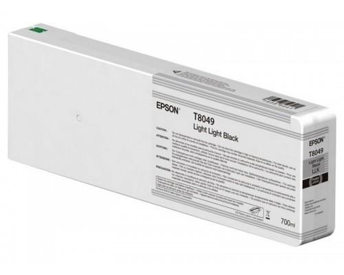 Картридж Epson (P6000/7/8/9, 700мл, светло-серый) C13T804900