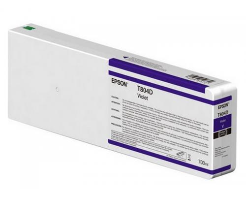 Картридж Epson (P7000V/9000V, 700мл, фиолетовый)  C13T804D00