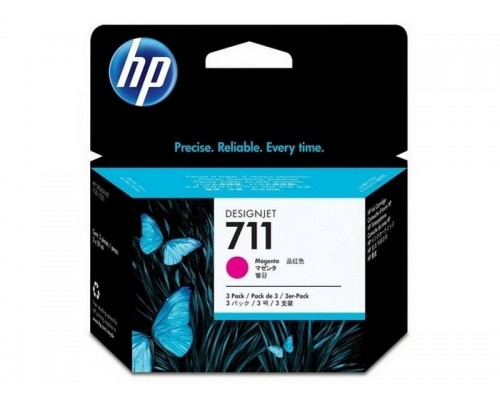 HP 711 3-pack 29-ml Magenta